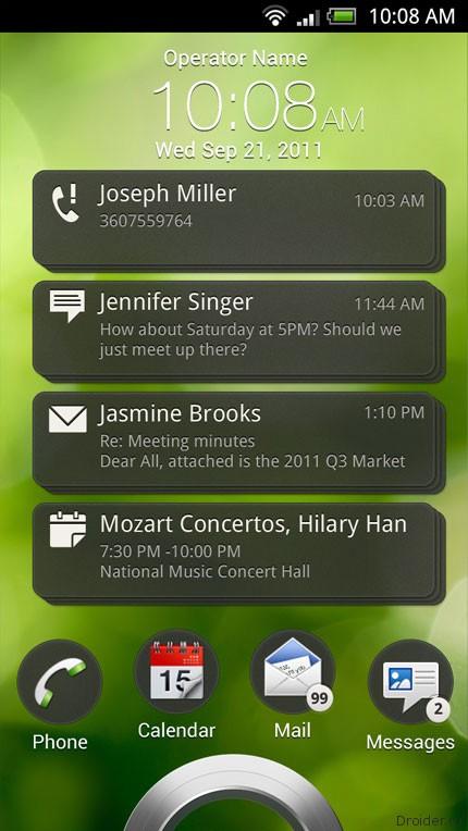 Получены скриншоты из обновления ОС ещё не вышедшего HTC Sense 4.0