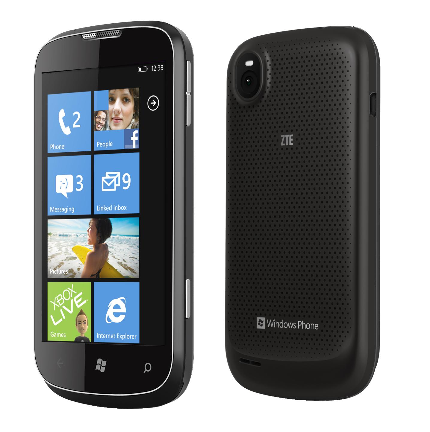 ZTE представила новый бюджетный смартфон Orbit