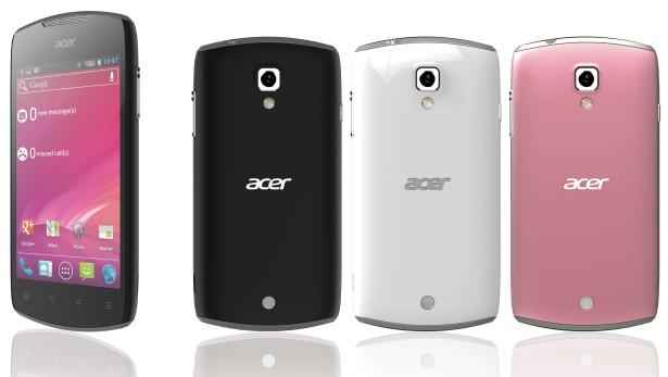 Acer Liquid Glow - новый смартфон на Android 4.0 ICS