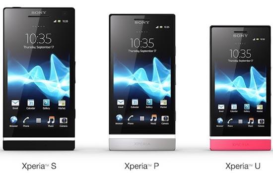 Sony Xperia U - младшая модель линейки Xperia