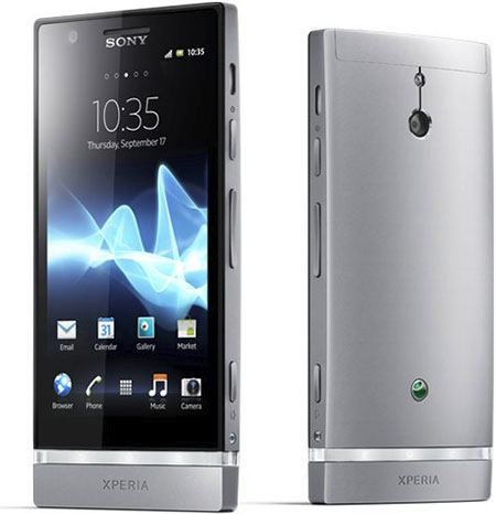Sony Xperia P представлен официально
