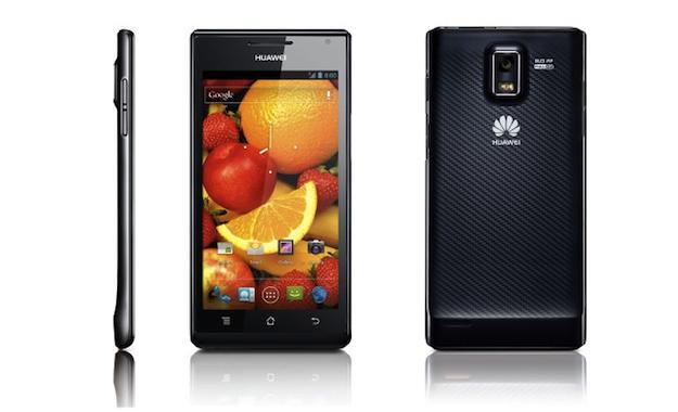 Huawei Ascend P1 выйдет в апреле, пока только в Китае