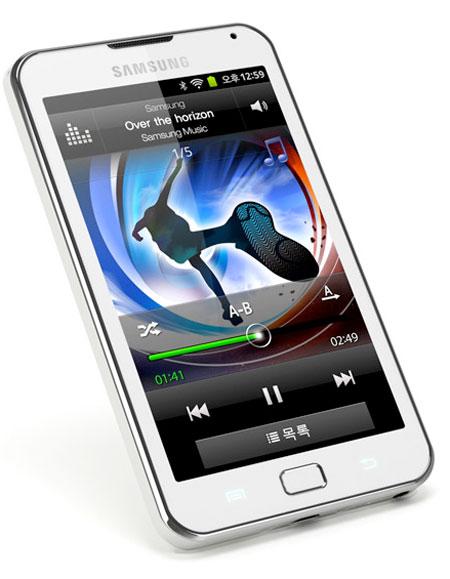 Двухъядерный плеер Samsung Galaxy Player 70 Plus