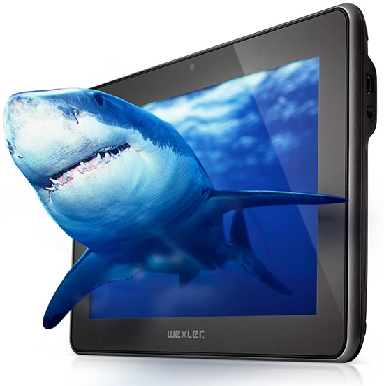 Новый планшет WEXLER.TAB 3D