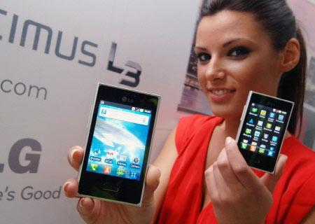 Начало продаж LG Optimus L3