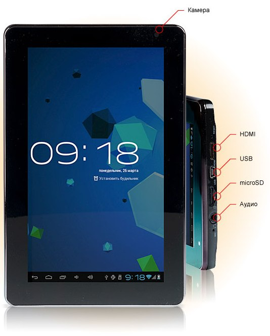 Анонс 8 дюймового планшета Explay Informer 801