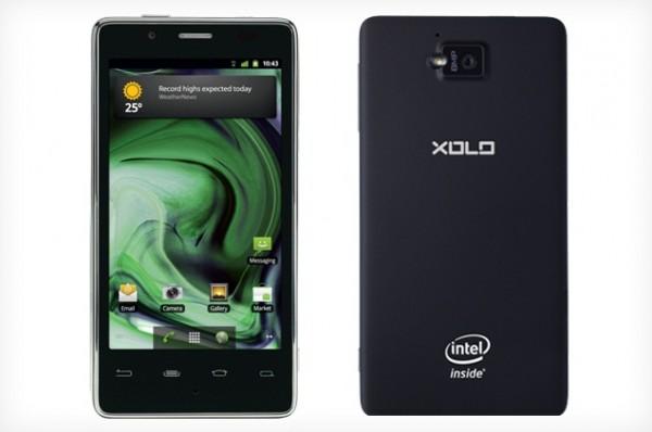 Lava Xolo X900 - смартфон на платформе Medfield выходит на следующей неделе