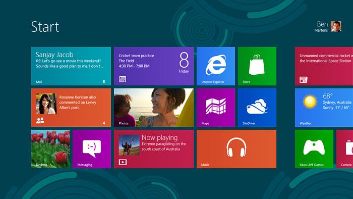 Новые продукты от Dell на Windows 8