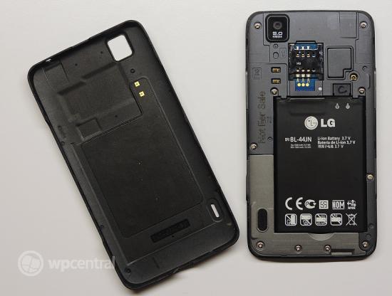 Мини-обзор неанонсированного WP-смартфона LG E740 Fantasy