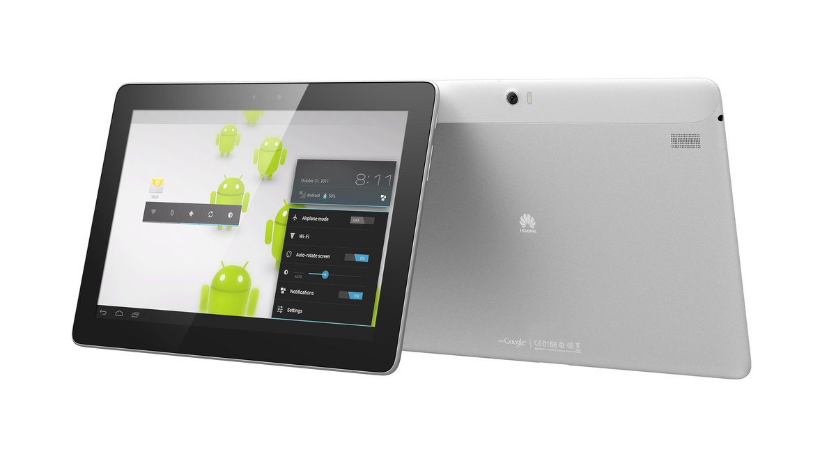 Huawei сообщила о продажах MediaPad 10 FHD в России