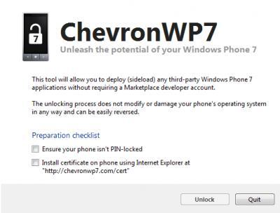 Проект ChevronWP7 прекращает свою работу 11 августа