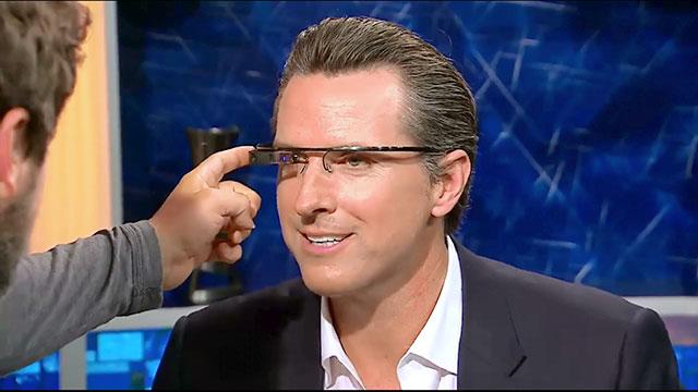 Новинка от Google: очки с сенсорной панелью управления