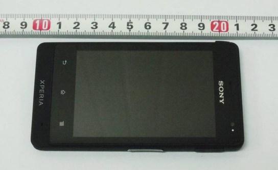 Новый смартфон Xperia Go от Sony отправлен в FCC на сертификацию
