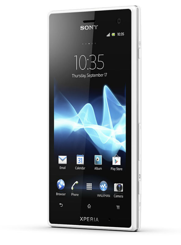 Анонс смартфонов  Sony Xperia go и Xperia acro S