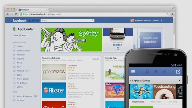 Официальный релиз Facebook App Center