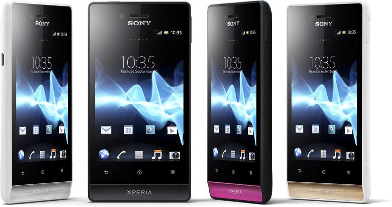 Представлен Sony Xperia miro