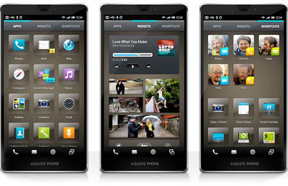 Feel UX от Sharp или новый взгляд на Google Android