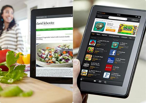 Ближайшие планы Amazon относительно выпуска новых смартфонов и планшетов с 10-и дюймовым дисплеем