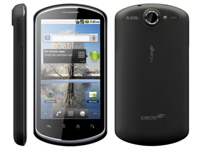 Huawei Ideos X5 Pro начал обновляться до Android 4.0 ICS
