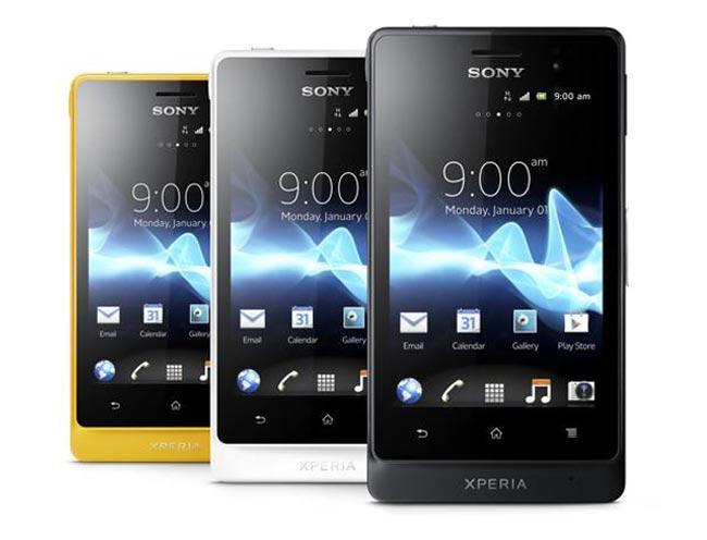 В России начался прием предзаказов на Sony Xperia go