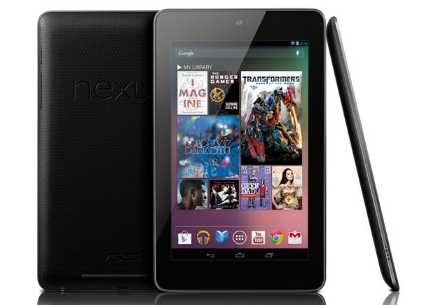 Официальные цены планшета Google Nexus 7 в России