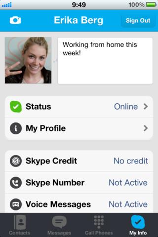 Обновление: Skype 4.1. Обмен фото и другие нововведения.