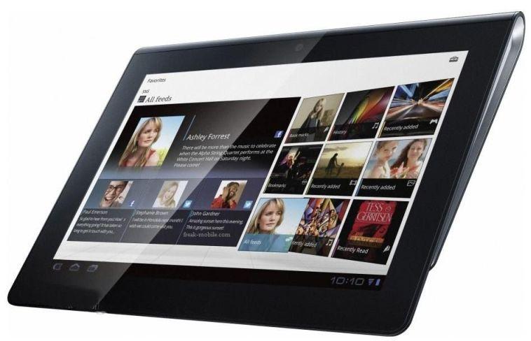Анонс планшетного компьютера Sony Xperia Tablet