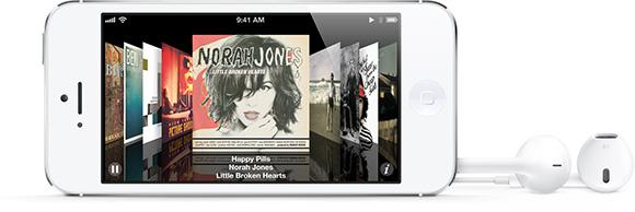 Реклама iPhone 5 и наушников EarPods