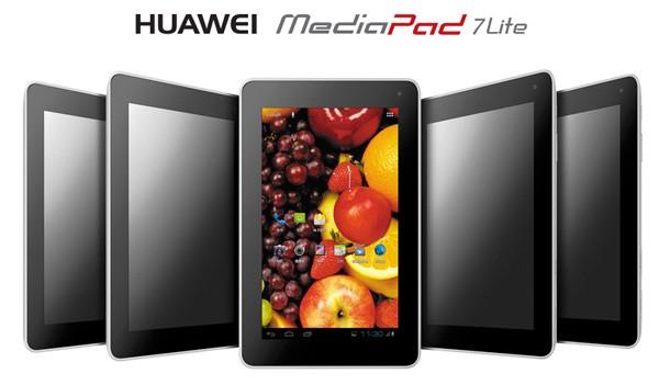 Продажи Huawei MediaPad 7 Lite в России