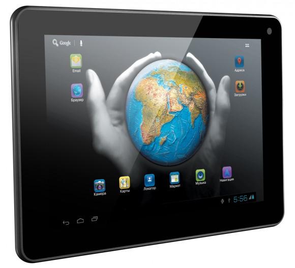 Prology Evolution Tab-750 - бюджетный планшет на Android 4.0 ICS