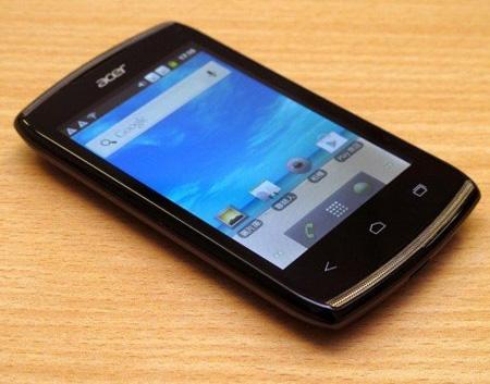 Acer Z110 с Android 4.0 ICS и поддержкой двух SIM-карт