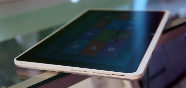 Видео: Демонстрация работы Windows 8 на планшете Acer W510