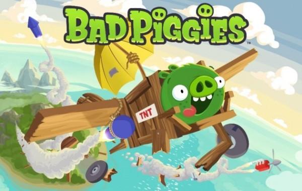 Геймплей Bad Piggies от Rovio