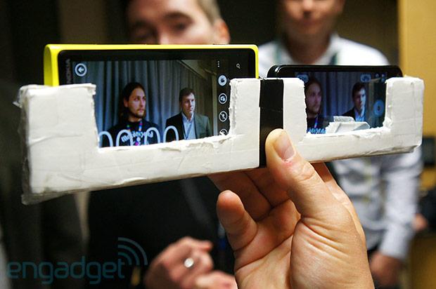Стабилизация при видеозаписи на Nokia Lumia 920, Apple iPhone 5, Samsung Galaxy S III и HTC One X