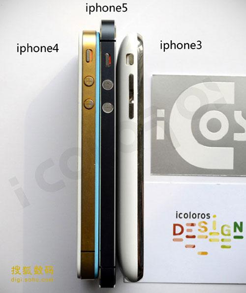 Фото: Сравнение нового iPhone с предыдущими поколениями