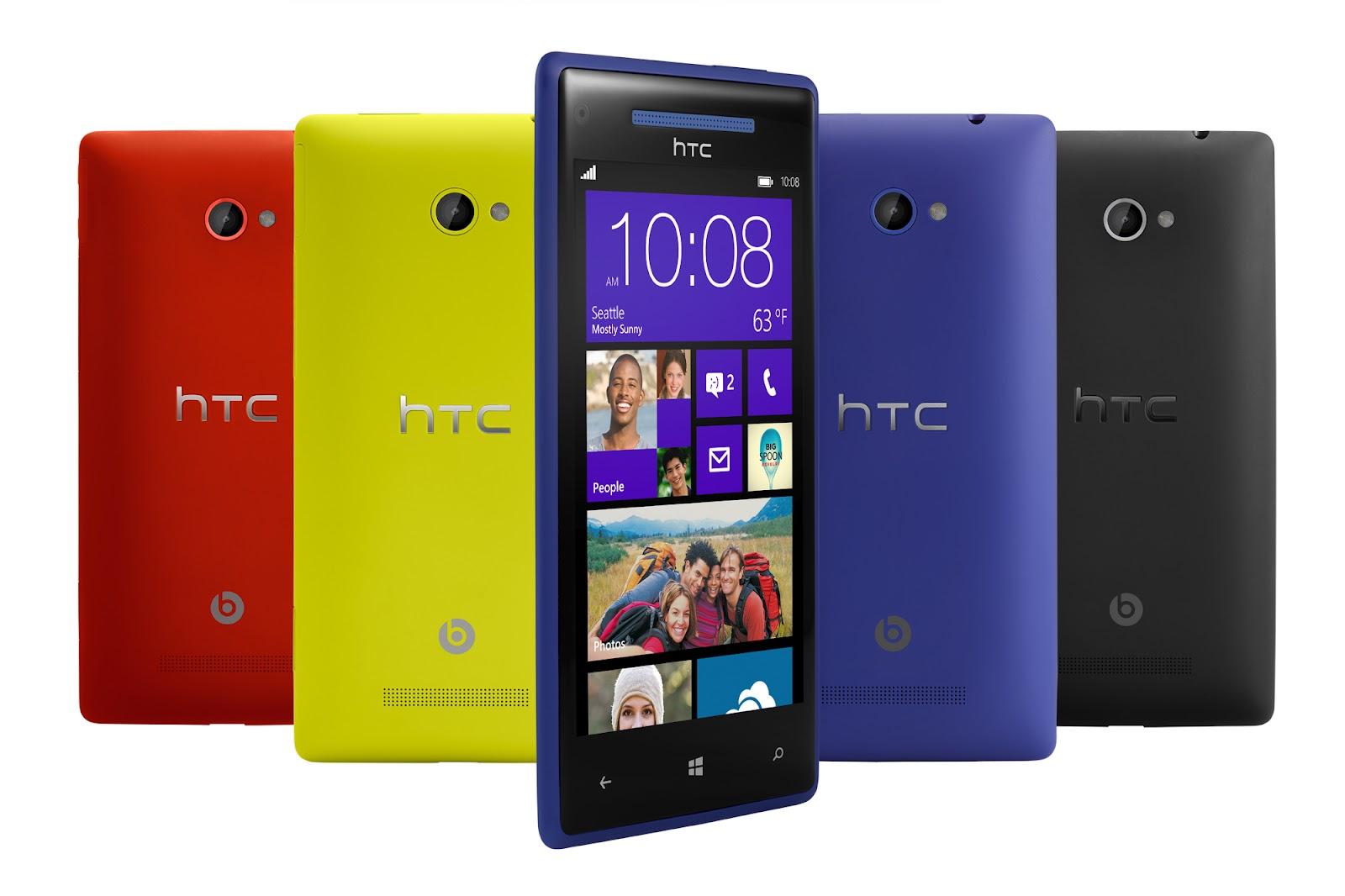 Представлены смартфоны HTC 8X и 8S на Windows Phone 8
