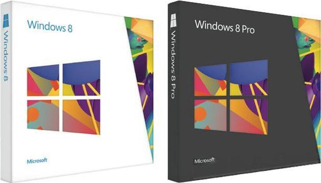 Amazon показал коробочные версии Windows 8