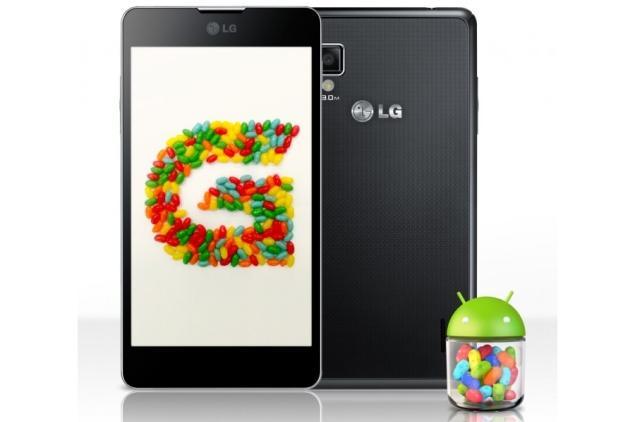 Обновление смартфонов LG до Android 4.1 Jelly Bean