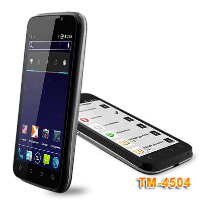 Две новинки от teXet на Android 4.0 ICS - смартфоны TM-5204 и TM-4504
