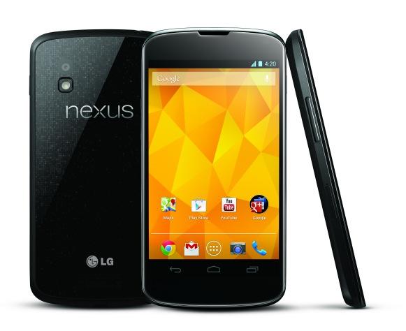 Google Nexus 4 представлен официально