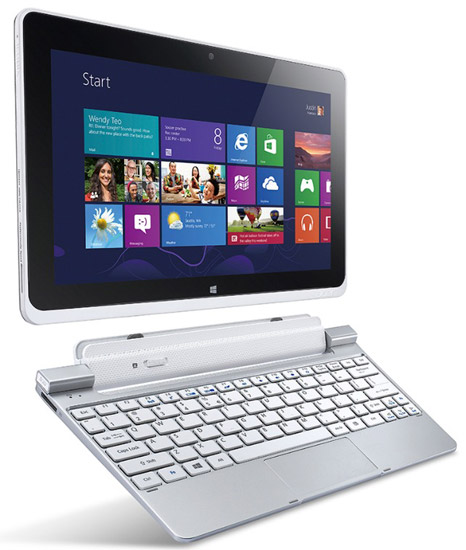 Дата выхода и стоимость Acer Iconia W510 на Windows 8