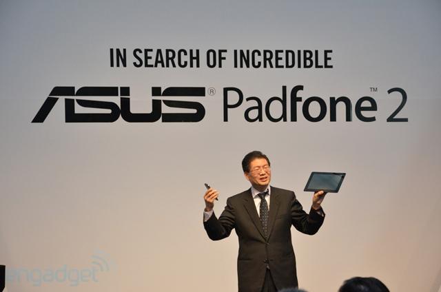 Asus официально представила PadFone 2