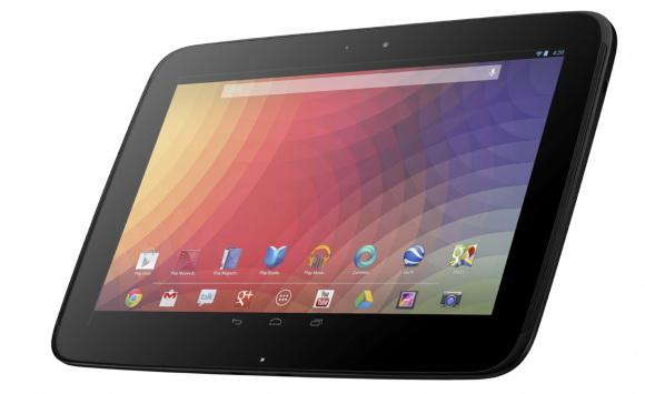 Планшет Nexus 10 представлен