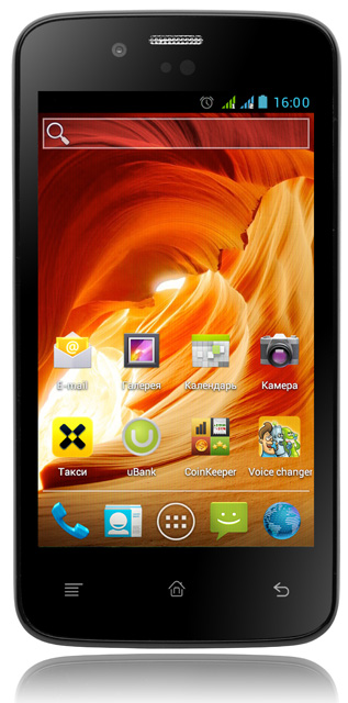 Fly IQ440 Energie - бюджетный смартфон с отличными характеристиками и емким аккумулятором
