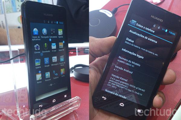 Huawei Y300 - бюджетный двухъядерный смартфон на Android 4.1 Jelly Bean