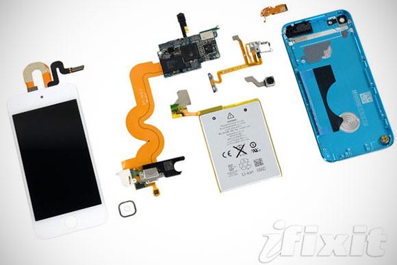 Разборка iPod Touch от iFixit