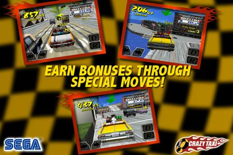 Игра Crazy Taxi вышла для iPhone и iPad