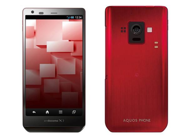 Sharp Aquos Phone Zeta SH-02E - первый смартфон с IGZO-дисплеем