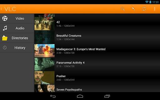 VLC media player — версия свободного медиаплеера для Android