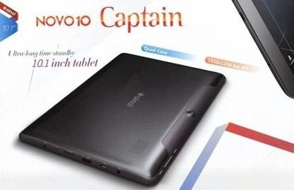 Ainol Novo 10 Captain - планшет с Full HD дисплеем